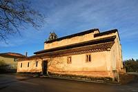 San Salvador de Priesca, Pre-romanesque church, Asturias, Spain