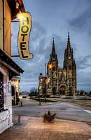 Basilique Notre-Dame de L´Épine, Notre Dame de l´Epine basilica, L´Epine, Champagne Ardennes, France