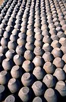 Ceramic pots, Bhaktapur, Nepal.