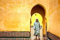 Mausoleum Of Moulay Ismail, Meknes, Morocco.
