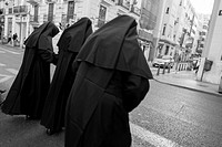 nuns, Valencia, Spain 2014
