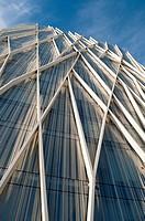 Telefonica Tower, Forum, Barcelona, Catalonia, Spain.