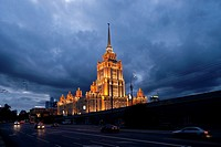 Royal Radisson hotel in Moscow.