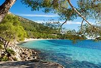Formentor beach, Mallorca island, Spain.