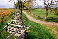Bloody Lane, Antietam National Battlefield, Maryland.