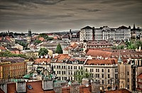 View of Prague, Czech Republic.