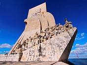 Padrao dos Descobrimentos - Monument to the Discoveries in Belem, Lisbon, Portugal.