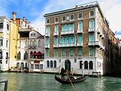 Gondola. Venice. Veneto. Italy.