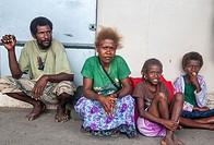 Solomon Islanders, Honiara.