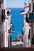 Altea street, ALicante, Spain.