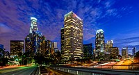 Downtown Los Angeles, California, USA.