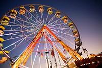 Fair of ´Día de los Tres Reyes´ Amusement park.