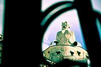 Casa Milà aka La Pedrera, 1906-1912 by Antoni Gaudí. Barcelona, Catalonia, Spain.