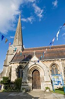 St Laurence Church, Stroud, Gloucestershire, England, UK.