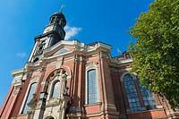 St. Michaelis Church ( Michel ) , Hamburg Germany.