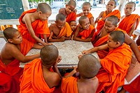 Young Buddhist Monks, Ko Samui, Thailand.
