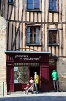 Rue de la Cité, Limoges, Haute-Vienne, Limousin, France.