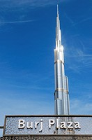 Burj Khalifa, tallest building in the world (828m), Dubai, United Arab Emirates, Persian Gulf.