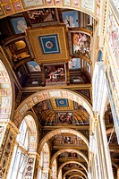 Interior artworks,decor and architecture. The hermitage St Petersburg Russia.