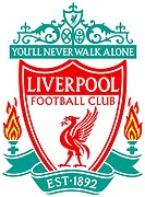 Logo of English football team FC Liverpool - Caution: For the editorial use only. Not for advertising or other commercial use!.