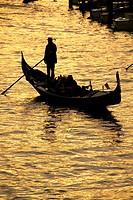 Gondola ride, Venice, Veneto, Italy