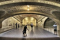Grand Central Station, New York City, United States.