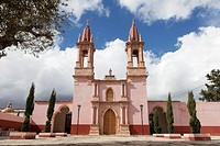 Church of the Sacred Heart of Jesus in the village of Santa Rosa de Lima - Guanajuato, Mexico.