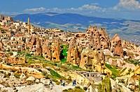 Guelvercin Evi, Pigeon Loft Valley, Uchisar, Cappadocia.