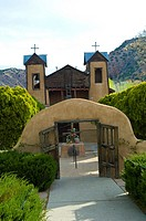Easter at the Santuario de Chimayo during Holy Weel.
