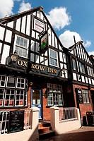 Ox Row Inn sitting on Butcher´s Row Salisbury.