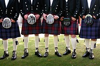 Kilts and Sporrans Scotland.