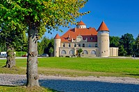 Stolpe Palace at Stolpe, Usedom, Germany.