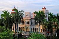 Palacio del Valle in Punta Gorda.Cienfuegos.Cuba.
