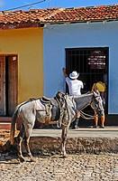 Street scene.Trinidad.Sancti Spíritus province.Cuba.