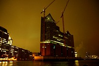 The Elbphilharmonie in Hamburg Speicherstadt / Hafen City.