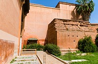 Saadian tombs, Marrakech, Morocco, North Africa, Africa.