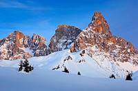 Cima della Pala - 3184 m, Dolomites, Italy.