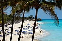 Dupont Xanadu mansion at white sand beach of Varadero resorts Cuba.