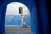 Chefchaouen, Rif region. Morocco.North Africa.