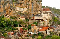 Rocamadour, Lot Department, Aquitaine, France.