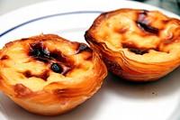 Nata pastries Lisbon Belem.