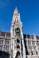 Neues Rathaus New City Hall, Munich, Germany