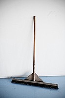 Sweeping broom on white background.Sweeping brush.