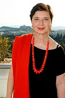 Actress ISABELLA ROSSELLINI presenting ´GREEN PORNO´ during Athens and Epidaurus Festival 2014 in Athens.