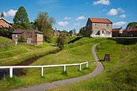 Hutton-le-Hole North Yorkshire England UK United Kingdom GB Great Britain.