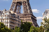The Eiffel Tower, Paris. It was named after the engineer Gustave Eiffel, who designed the iron tower. Built in 1889 for the World´s Fair, it is now a ...