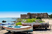 Africa, North Africa, Maghreb, Djerba island. Governorat of Medenine. Houmt Souk. Fort Borj El Kebir.