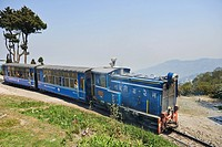 "The Darjeeling Himalayan Railway, also known as the """"Toy Train"""", is a 2 ft (610 mm) narrow gauge railway that runs between New Jalpaiguri and Darjee..."