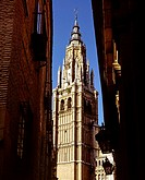 The Primate Cathedral of Saint Mary of Toledo (Spanish: Catedral Primada Santa María de Toledo) is a Roman Catholic cathedral in Toledo, Spain, see of...