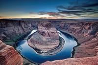 Horseshoe Bend. Page, Arizona, USA.